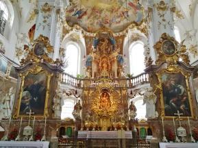 Hochaltar in der Wallfahrtskirche
