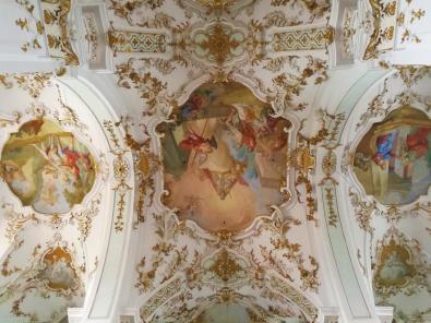 Fresko über dem Kirchenraum