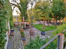 Hübscher kleiner Garten im Hexeviertel