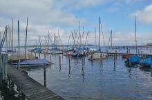 Yachthafen in Felden