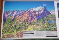 Die Zugspitze ist die Hauptattraktion von Garmisch-Partenkirchen