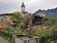 Blick auf die Kirche