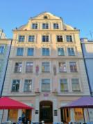 Prächtiges Bürgerhaus auf der Ludwigstraße