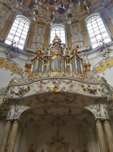 Orgelempore in der Klosterkirche