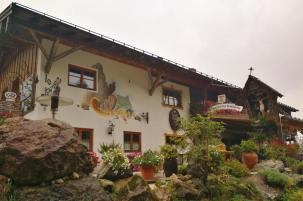 Die Kolbenalm oberhalb von Oberammergau