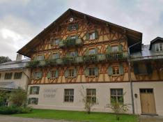Das Schlosshotel am Rande des Parks
