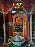 Innenraum im Marokkanischen Haus