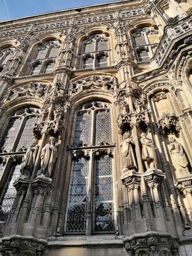 Detail an der Fassade des Alten Rathaus