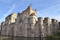 Burg Gravensteen, Rückansicht