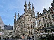Das Alte Rathaus am Grote Markt, Ansicht von Westen