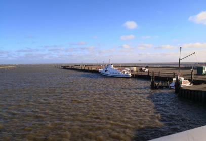 Weitgehend verwaist: Der Yachthafen von Horumersiel