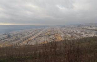 Blick in den Hambacher Tagebau