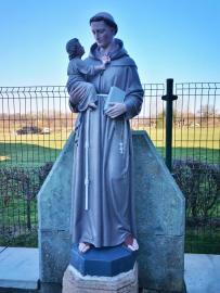 Franziskus-Statue am ehemaligen Katharinenstift