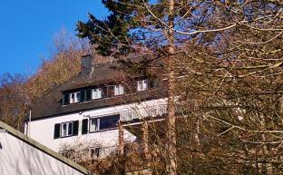Konrad Adenauers Wohnhaus oben am Berg