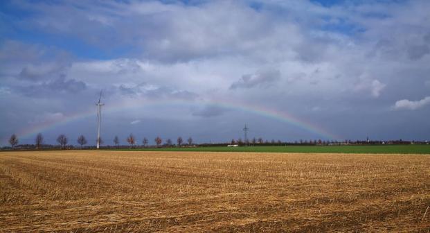 Regenbogen über Büttgen