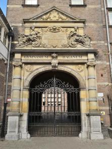 Portal des Gymnasiums Haganum