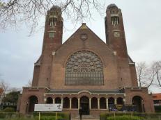 Die protestantische Kirche Nieuwe Badkapel