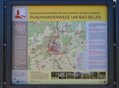 Wanderwege rund um Bad Belzig