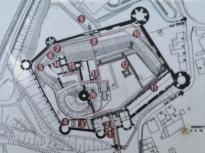 Grundriss der Burg Eisenhardt
