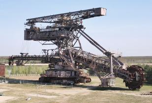 "Schaufelradbagger ""Big Wheel"""