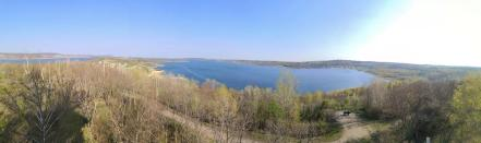 Blick über den Südteil des Sees
