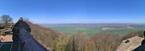 Blick in Richtung Harz