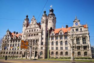 Das Neue Rathaus von Leipzig