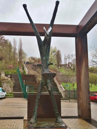 Zugang zum Gelände der Landesgartenschau am Petersberg
