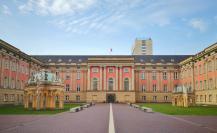 Innenhof des Brandenburger Landtags im wiederaufgebauten Stadtschloss