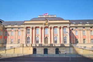 Frontseite des Brandenburger Landtags im wiederaufgebauten Stadtschloss