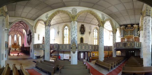Innenraum der St. Jakobi-Kirche (Foto ErwinMeier | http://commons.wikimedia.org | Lizenz: CC BY-SA 4.0 DE)