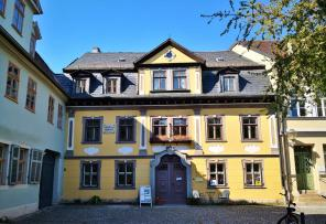 Musäushaus neben dem Marstall, heute Albert-Schweitzer-Gedenkstätte