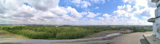 Panoramablick von der Haldenspitze