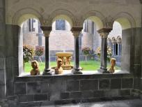 Das Paradies an der Westseite des Laacher Münsters