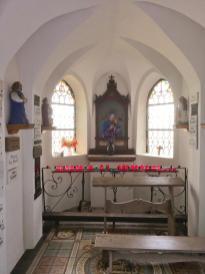 Innenraum der Spoar-Kapelle