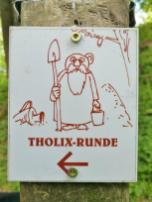 Tholix-Runde in Erinnerung an die keltische Besiedlung des Bergs