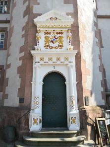 Prächtiges Rathausportal