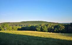 Blick zu den Höhen rund um Blomberg