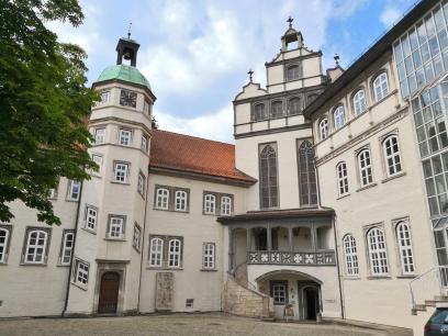 Innenhof von Schloss Gifhorn