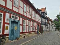 Historische Häuser in der Straße Hinterer Brühl