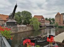Der Alte Kran am Stintmarkt