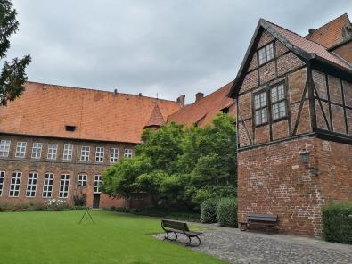 Innenhof des Rathaus-Karrees