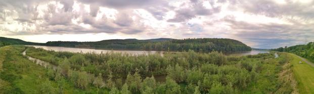 Panoramabild vom Aussichtspunkt