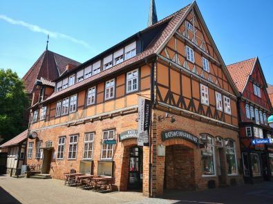 Ratsweinhandlung/Nige Hus in der Fußgängerzone