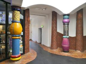 Säulen im Innenbereich