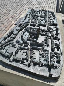 Modell des mittelalterlichen Xanten