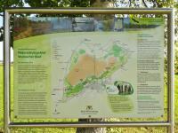 Infotafel am Zugang zum Wurzacher Ried