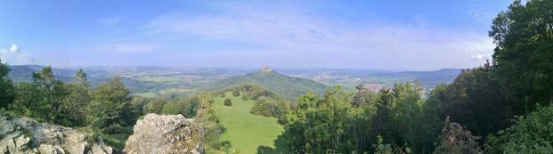 Panoramabild vom Zeller Horn