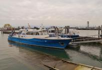 Polizeiboote im Hafen