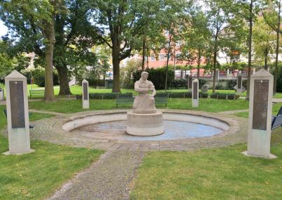 Kriegderdenkmal im Stadtpark